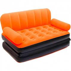 Надувной диван-трансформер 5в1 BestWay Comfort (Air-O-Space) 67356-1 оранжевый