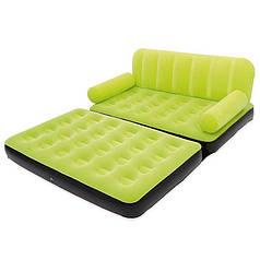 Надувной диван-трансформер 5в1 BestWay Comfort (Air-O-Space) 67356-1 зеленый