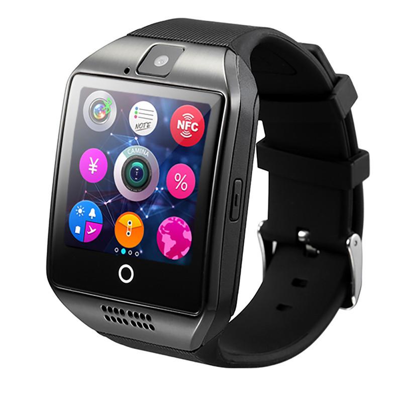 Умные смарт часы Smart Watch Q18 черные