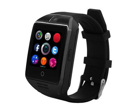 Умные смарт часы Smart Watch Q18 черные, фото 2