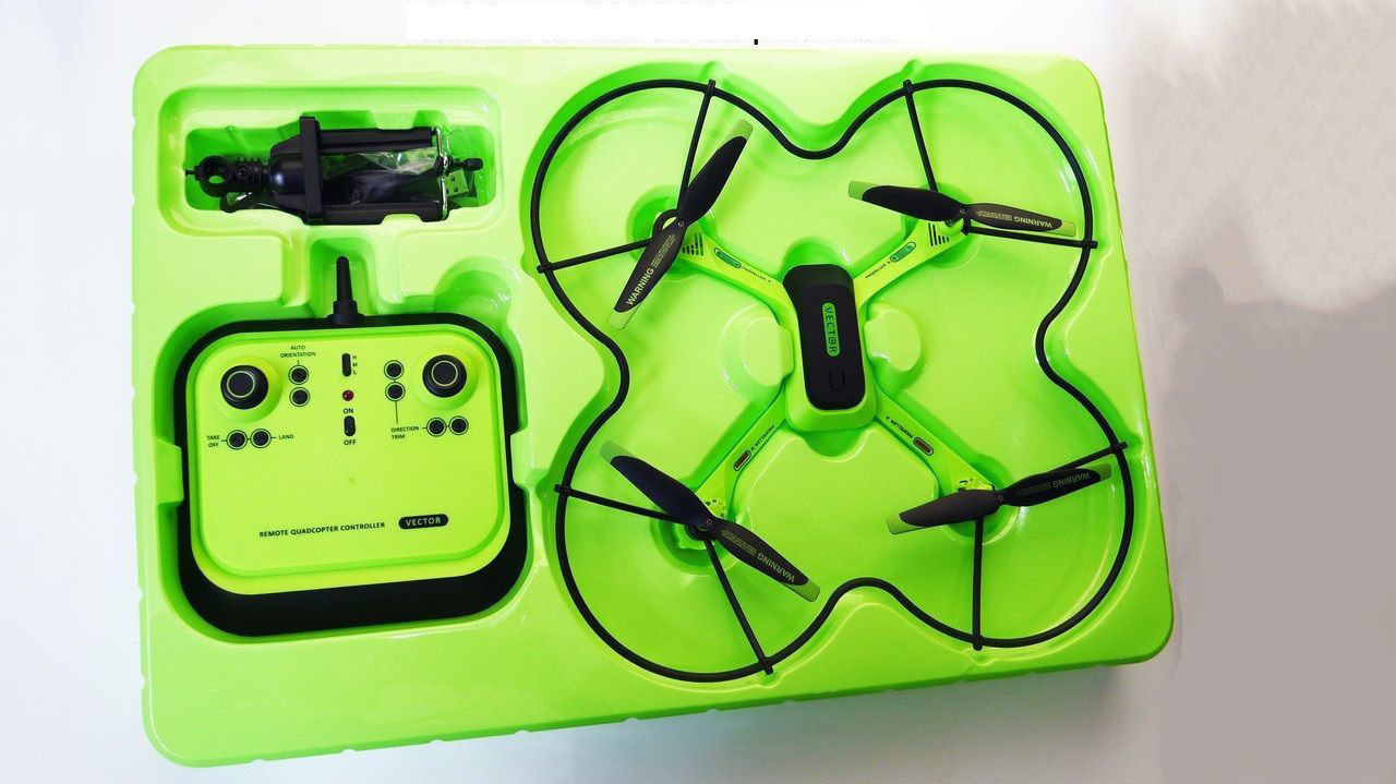 Квадрокоптер-дрон Quadcopter Leason ls-201-7W