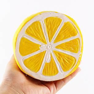 Сквиши SQUISHY лимон Сквиш Антистресс игрушка ароматная большая, фото 2