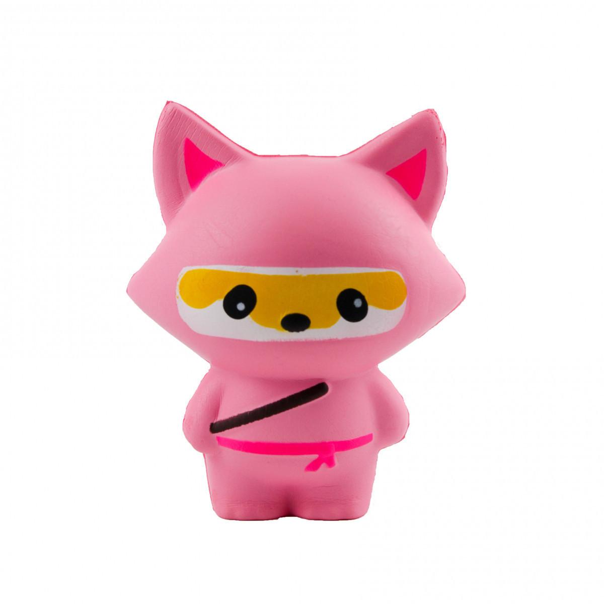 Сквиши SQUISHY Squishy Лиса нинзя большой Сквиш Антистресс игрушка