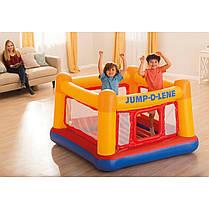 Надувной батут Intex 48260-1 «Jump-O-Lene» , 174 х 174 х 112 см, с шариками 30 шт , фото 3