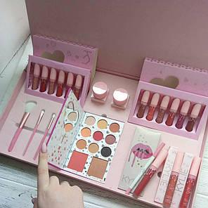 Большой профессиональный подарочный набор для макияжа Kylie I Want It All, фото 2