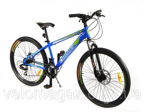 """Велосипед Crosser Banner-1*21 29"""" NEW синий горный алюминиевый"""