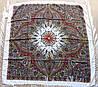 Платок шерстяной павлопосадский (120см) 607042, фото 2