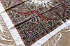 Платок шерстяной павлопосадский (120см) 607042, фото 3