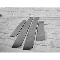 Накладки на пороги металлическте Standart Hyundai TUCSON 2004-2010