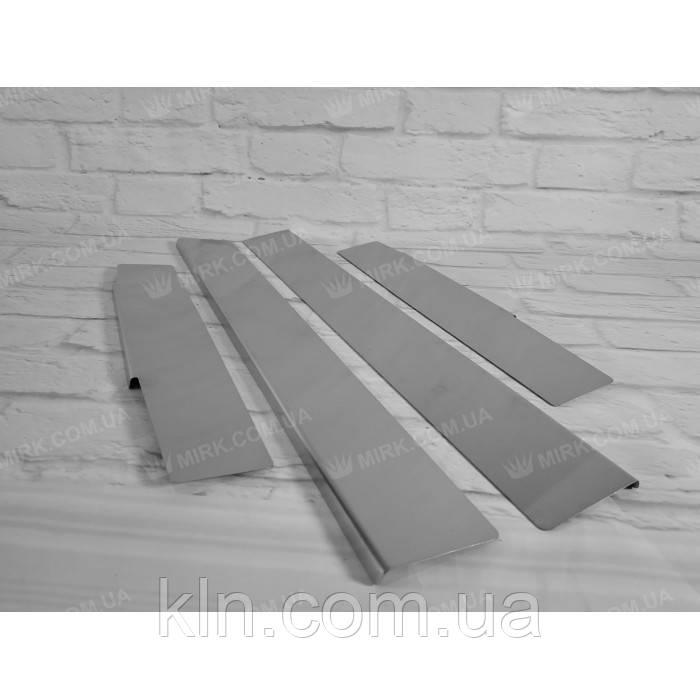 Накладки на пороги металлическте Standart TOYOTA CAMRY 50 FL 70 2011-2019