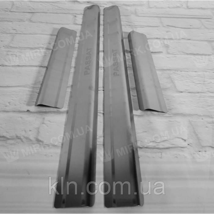 Накладки на пороги металлическте Standart VOLKSWAGEN PASSAT B6 /CC/B7 2005-2010
