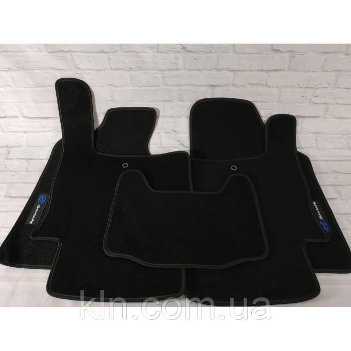 Премиум коврики в салон автомобиля текстильный  Hyundai Santa Fe II 2006-2010  Beltex черный premium