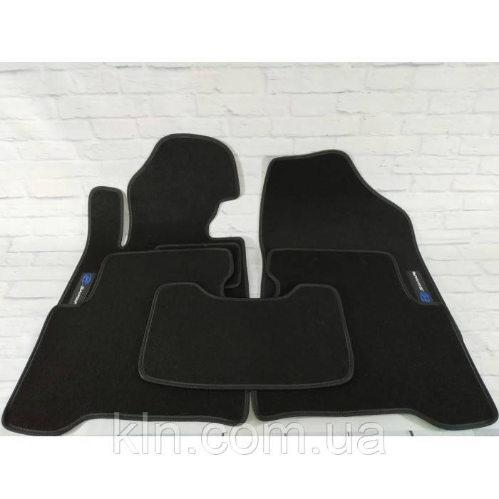 Премиум коврики в салон автомобиля текстильный Hyundai Santa Fe  III 2012-2019  Beltex черный premium