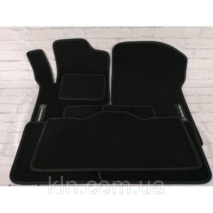 Премиум коврики в салон автомобиля текстильный Mercedes M-class ML 320 CDI HB (W 164) 2005-2011 Beltex черный premium