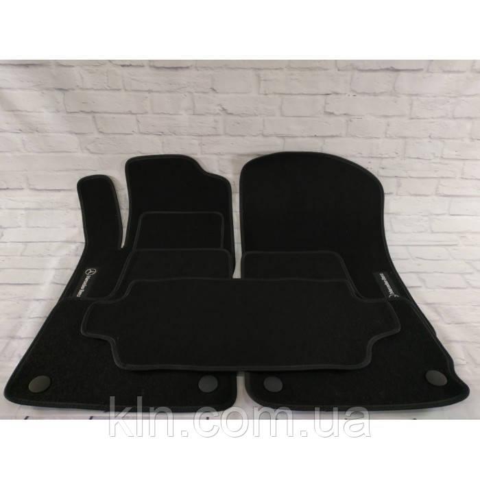 Премиум коврики в салон автомобиля текстильный  Mercedes M-class ML 350 АКП джип (W 166) Bluetec 2011-2019  Beltex черный premium