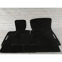 Премиум коврики в салон автомобиля текстильный BMW X5 (E-70) 2006-2013  Beltex черный premium