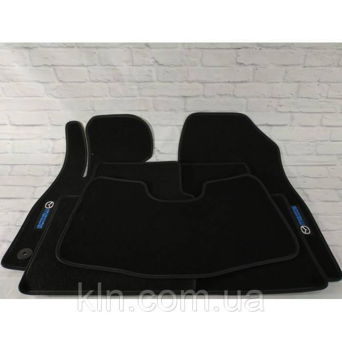 Премиум коврики в салон автомобиля текстильный  Mazda 6 III АКП SD 2012-  Beltex черный premium