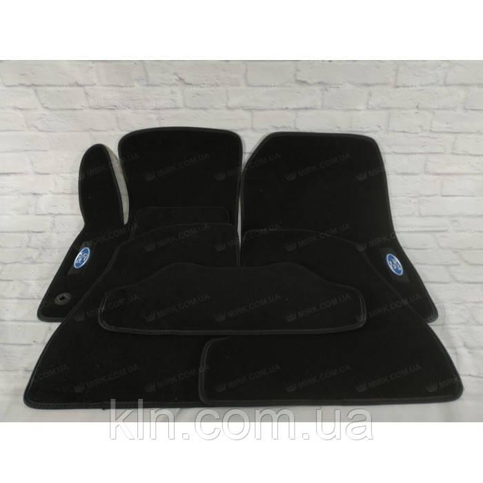 Премиум коврики в салон автомобиля текстильный . Ford Focus III SD 2011-2015  Beltex черный premium