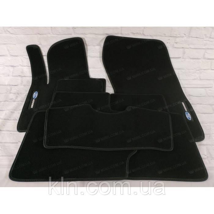 Килимки для салону автомобіля текстильний Ford Mondeo V МКП 2014-(5шт.) Beltex чорний