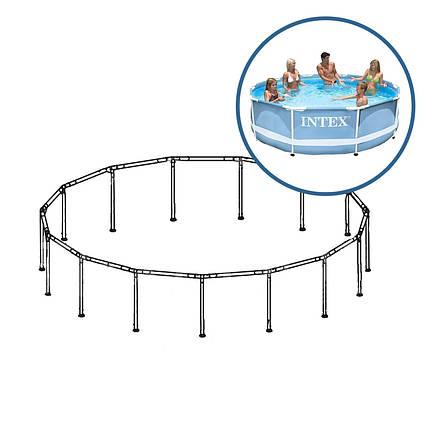 Каркас Intex 88700 для бассейнов Prism Frame 28700. Размер 305 х 76 см , фото 2