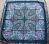 Платок шерстяной павлопосадский (120см) 607044, фото 2