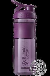 Спортивная бутылка-шейкер BlenderBottle SportMixer 820ml Plum (ORIGINAL)