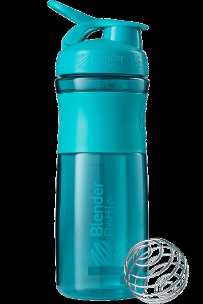 Спортивная бутылка-шейкер BlenderBottle SportMixer 820ml Teal (ORIGINAL)