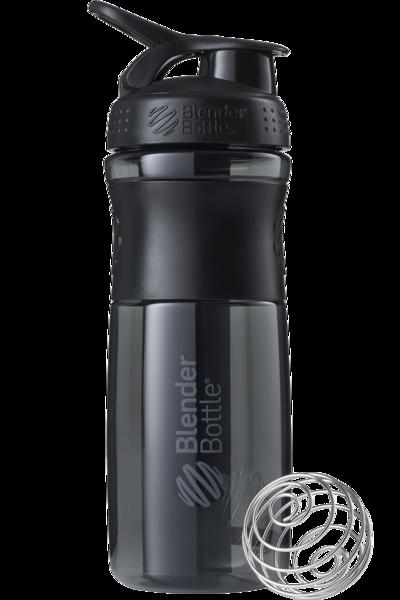 Спортивная бутылка-шейкер BlenderBottle SportMixer 820ml Black (ORIGINAL)