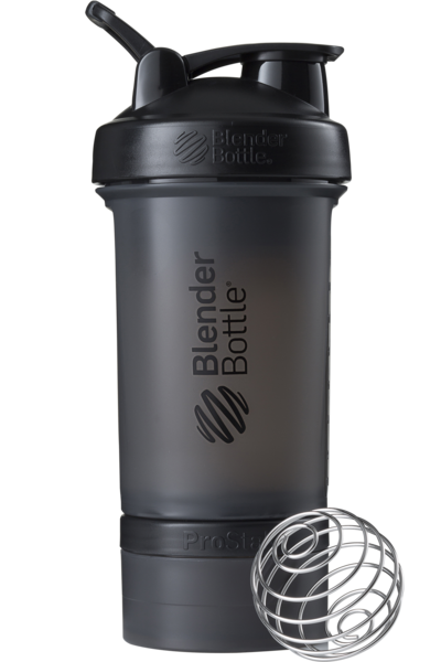 Шейкер спортивный BlenderBottle ProStak 650ml с 2-мя контейнерами Black (ORIGINAL)