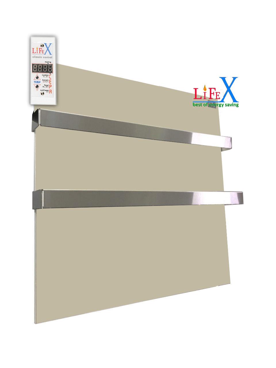 Полотенцесушитель керамический LIFEX ПСК400 Duo (бежевый)