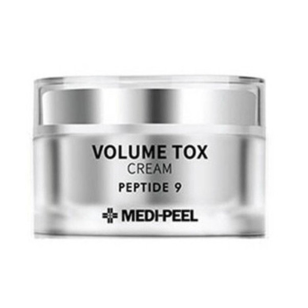 Крем с 9 пептидами повышающий упругость MEDI-PEEL Volume Tox Cream Peptide 9, 50мл
