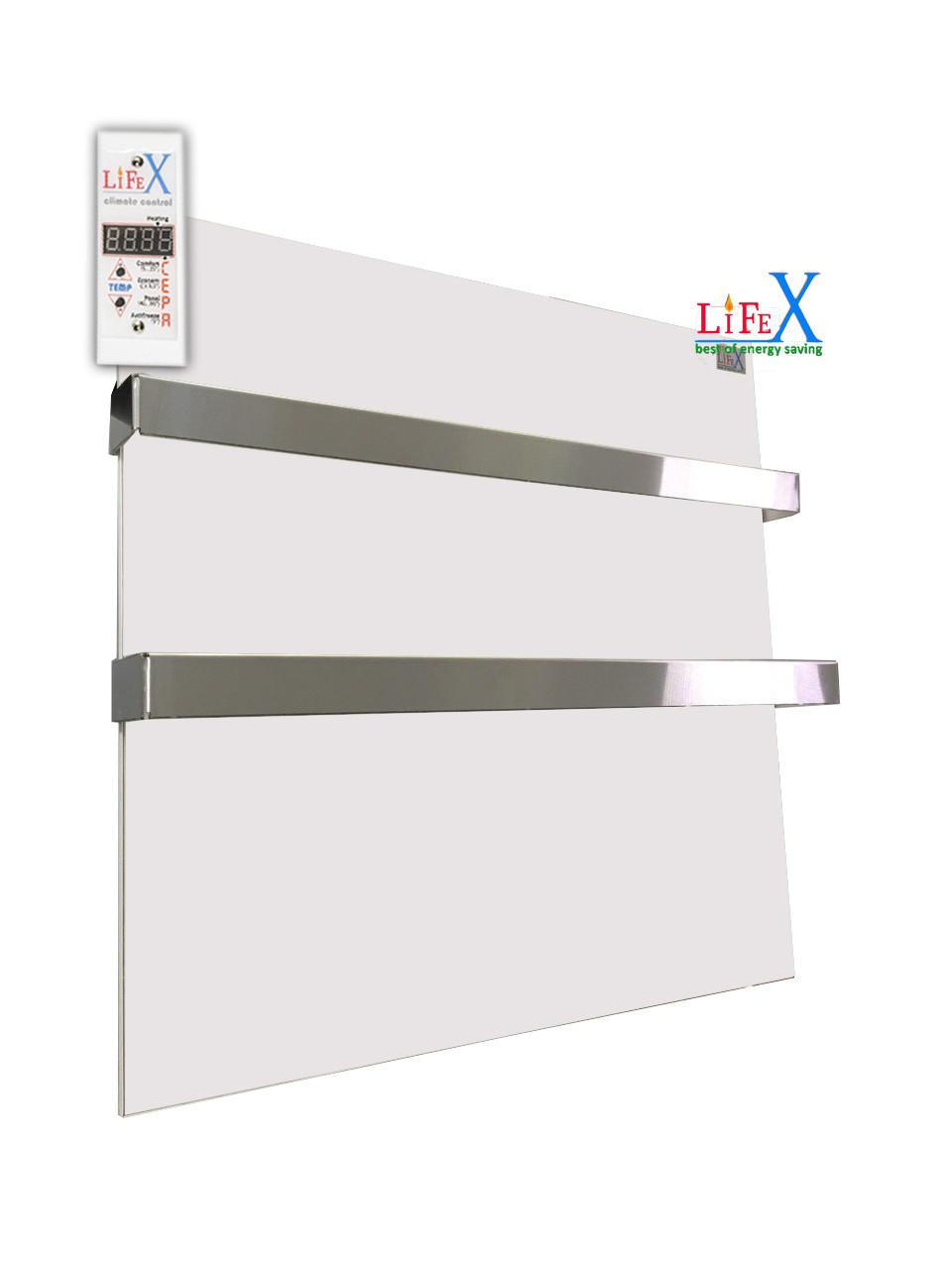 Полотенцесушитель керамический LIFEX ПСК400 Duo (белый)