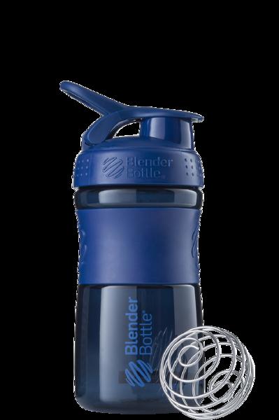 Спортивная бутылка-шейкер BlenderBottle SportMixer 590ml Navy (ORIGINAL)