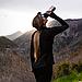 Спортивная бутылка-шейкер BlenderBottle SportMixer Stainless Steel Cyan 820мл (из нержавеющей пищевой cтали), фото 5