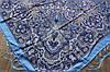 Платок шерстяной павлопосадский (120см) 607048, фото 3