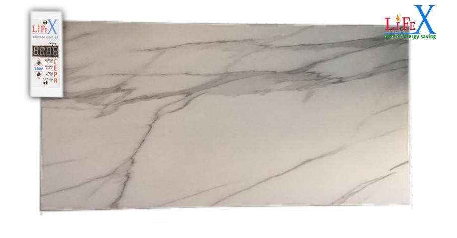 Керамическая панель инфракрасная LIFEX КОП600 (белый мрамор)