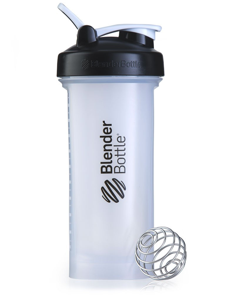 Шейкер спортивный BlenderBottle Pro45 1270ml Clear/Black (ORIGINAL)