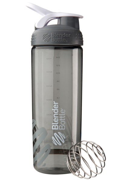 Спортивная бутылка-шейкер BlenderBottle SportMixer Sleek Promo 820ml Grey (ORIGINAL)