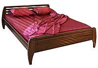 Кровать полуторная деревянная Анжелика