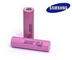 Аккумулятор Samsung ICR18650-26F M 2600 mAh, АКБ, батарея типа Li-Ion для вейпов, сигарет цена за штуку