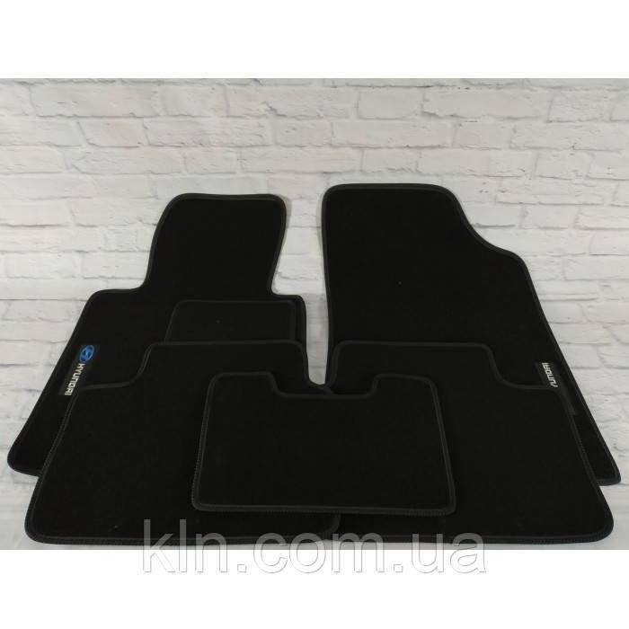 Коврики для салона автомобиля текстильный  Hyundai і 30 II 2012-2019 Beltex черный