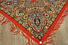 Платок шерстяной павлопосадский (120см) 607052, фото 3