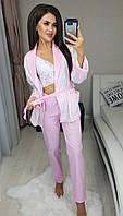 Женская пижама тройка есть ботал, фото 1