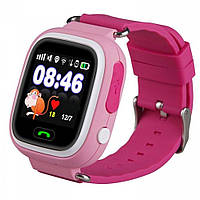 Детские смарт-часы с GPS трекером Smart Watch Q90s Pink (100225)