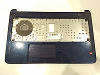 HP 15-F, N Корпус C (топкейс, средняя часть) (JTE39U86TP60, EAU860001070) (синий) бу