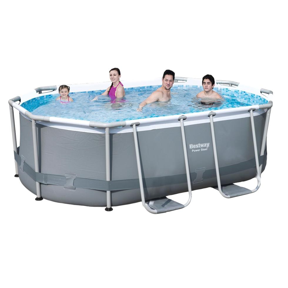 Каркасный бассейн Bestway 56617 - 1, 300 х 200 х 84 см