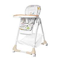 Стульчик для кормления бежевый  BABY TILLY Bistro T-641/2 Beige деткам от 6 месяцев