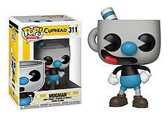 Фигурка Funko Pop Фанко Поп Чашкоголовый Магмен Games Cuphead Mugman 10 см GC M 311