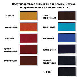 """Краска для замши 40 мм.""""Dr.Leather"""" Aniline Dye чёрно-графитовый, фото 2"""