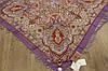 Платок шерстяной павлопосадский (120см) 607058, фото 2